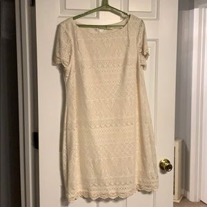 Off white lacy dress